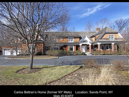 Carlos Beltran's Home For Sale With Luxury Portfolio