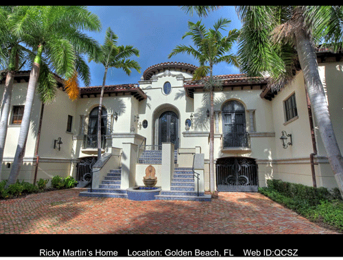 Ricky Martin's Home For Sale With Luxury Portfolio