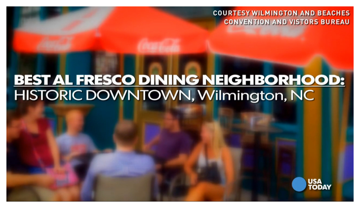 Best Al Fresco Dining Neighborhood