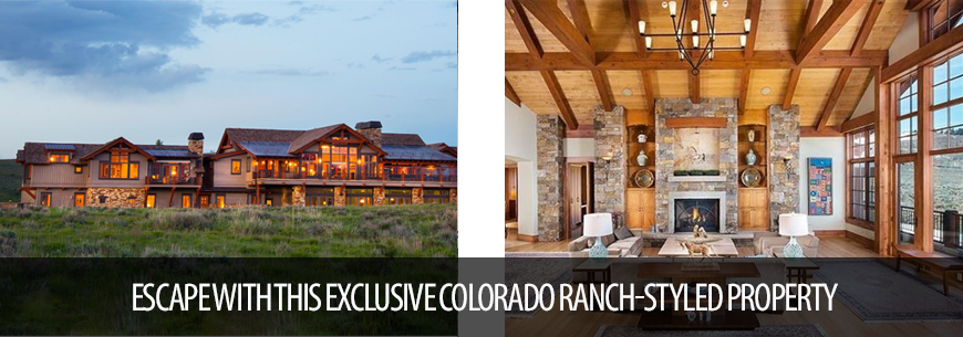 Colorado Ranch Styled Property