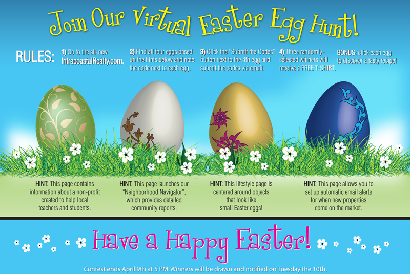 Intracoastal Realty's Virtual Easter Egg Hunt