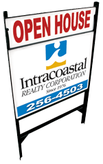 Intracoastal Realty Open-House-Sign