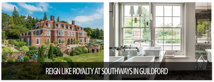 Luxury Portfolio Spotlight reign Like royalty at Southways in Guildford UK