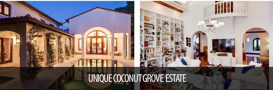 Unique Coconut Grove Estate