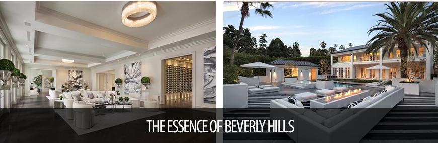 THE ESSENCE OF BEVERLY HILLS luxury portfolio real estate