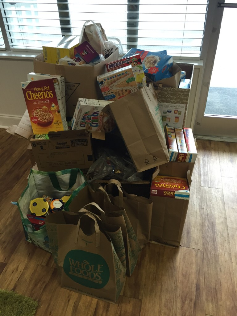 Intracoastal Realty Food Drive Food Bank of Eastern NC Wrightsville Beach