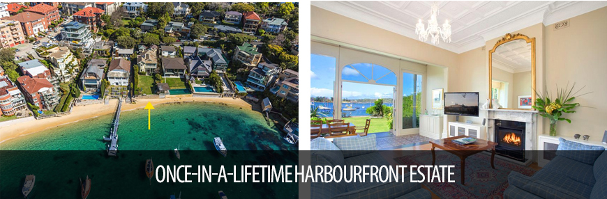 ONCE-IN-A-LIFETIME HARBOURFRONT ESTATE