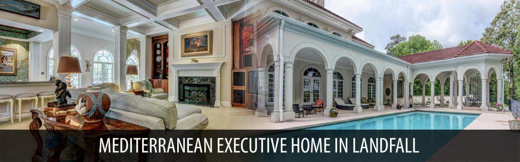 MEDITERRANEAN EXECUTIVE HOME IN LANDFALL