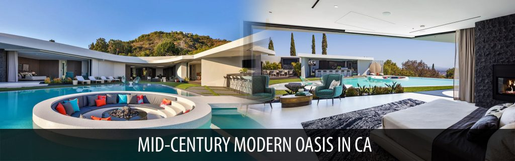 Mid-century modern oasis in CA