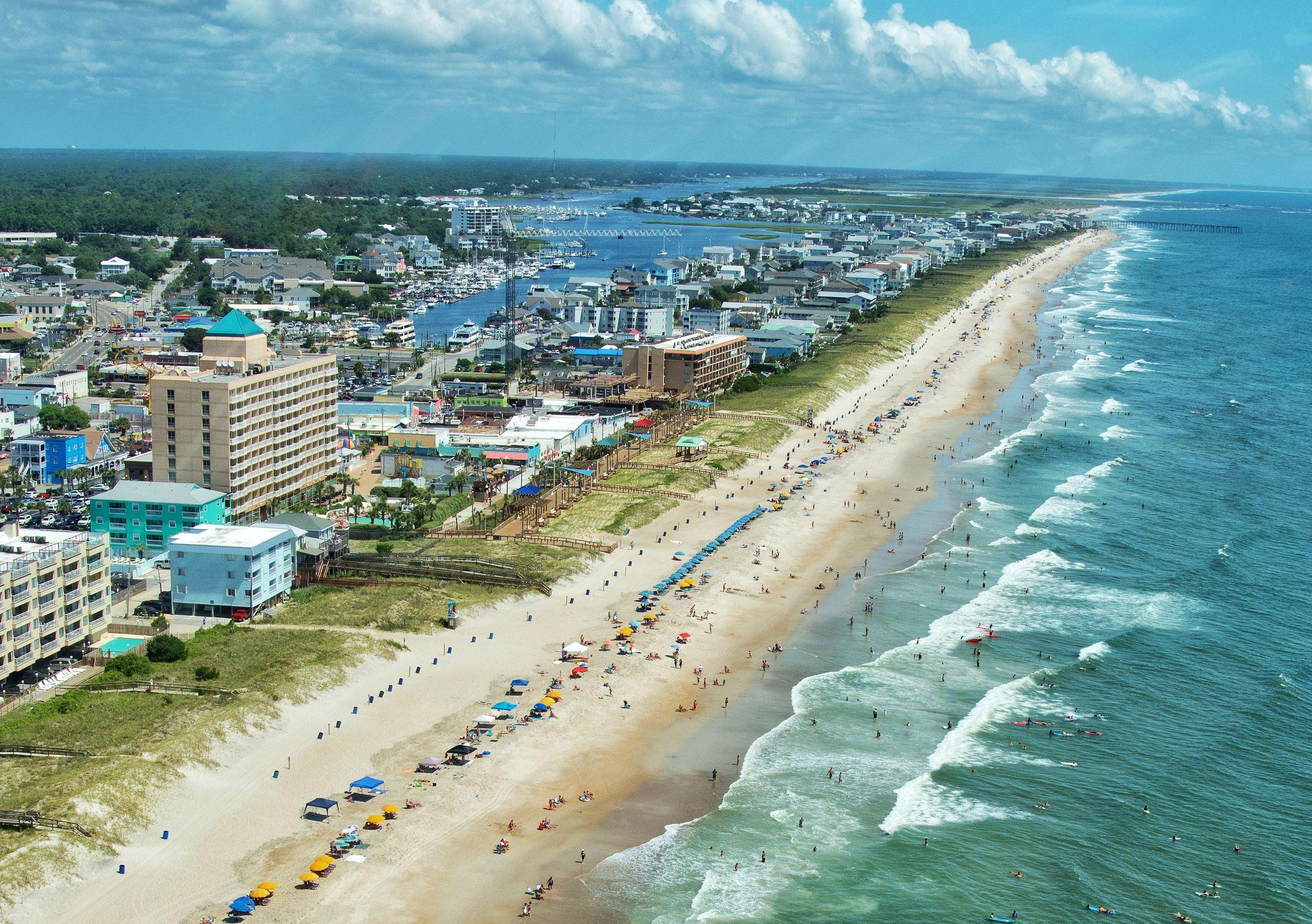 Pleasure Island Nc Carolina Beach