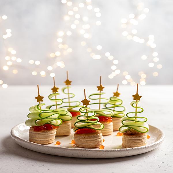 Mini Tree Canape recipe